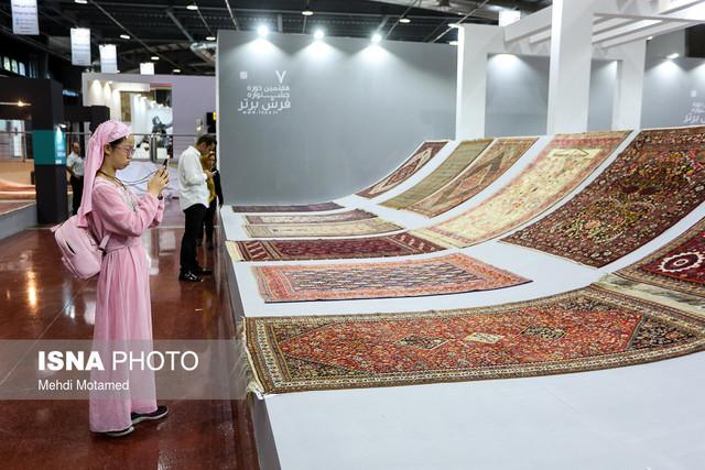 افتتاح بیست و ششمین نمایشگاه فرش دستباف ایران با حضور شریعتمداری وزیر صنعت و پزشکیان نایب رئیس مجلس
