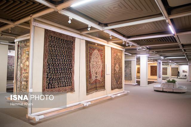 مراسم افتتاح پروژههای عمرانی موزه فرش ایران