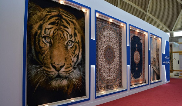 نمایشگاه فرش ماشینی شهر آفتاب
