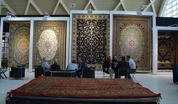 گزارش تصویری نمایشگاه فرش ماشینی شهر آفتاب