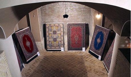 نمایشگاه فرش کاشان