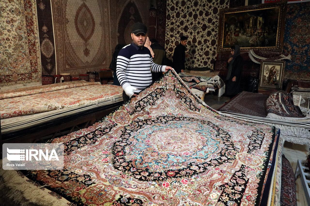 دوره ملی آموزش صادرکنندگان فرش دستباف در تهران آغاز شد