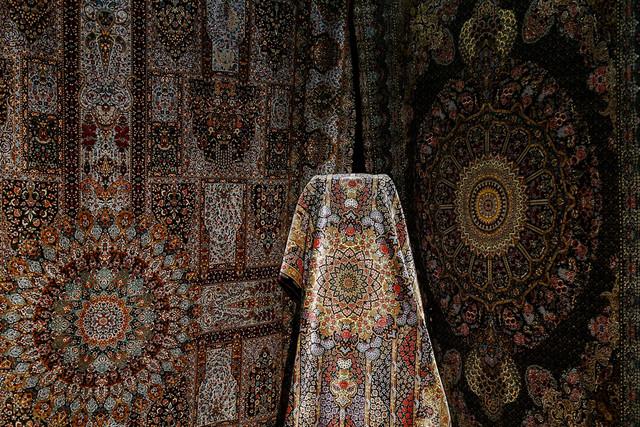 نمایشگاه فرش دستباف - همدان
