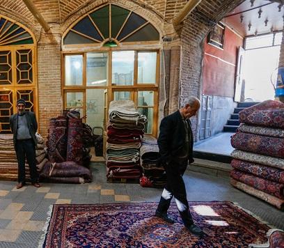 گذری در راسته بازارهای فرش همدان