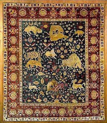 ماجرای فرش دستباف نفیس ایرانی با «نقش جنگ» در موزه لورر | مغازه لوور از نگاه عبدالله مستوفی