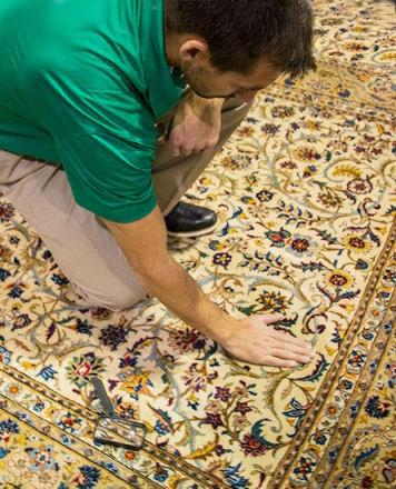 روش های پاک کردن لکه از روی سطح فرش