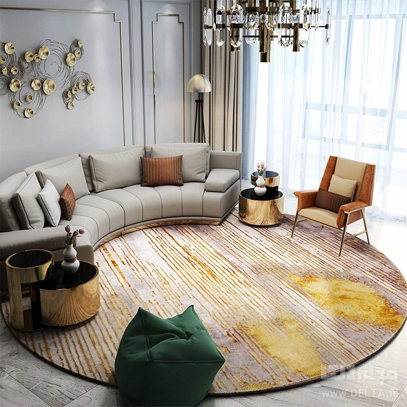 فرش در دکوراسیون مدرن