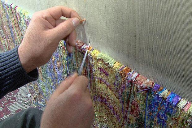 صادرات 90 درصدی فرش های دستباف مددجویان خراسان جنوبی