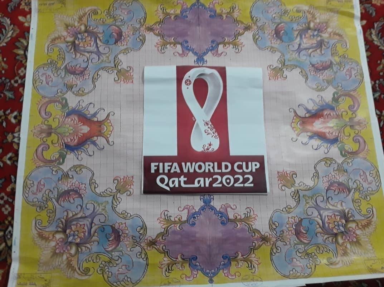 تابلوفرش جام جهانی فوتبال قطر