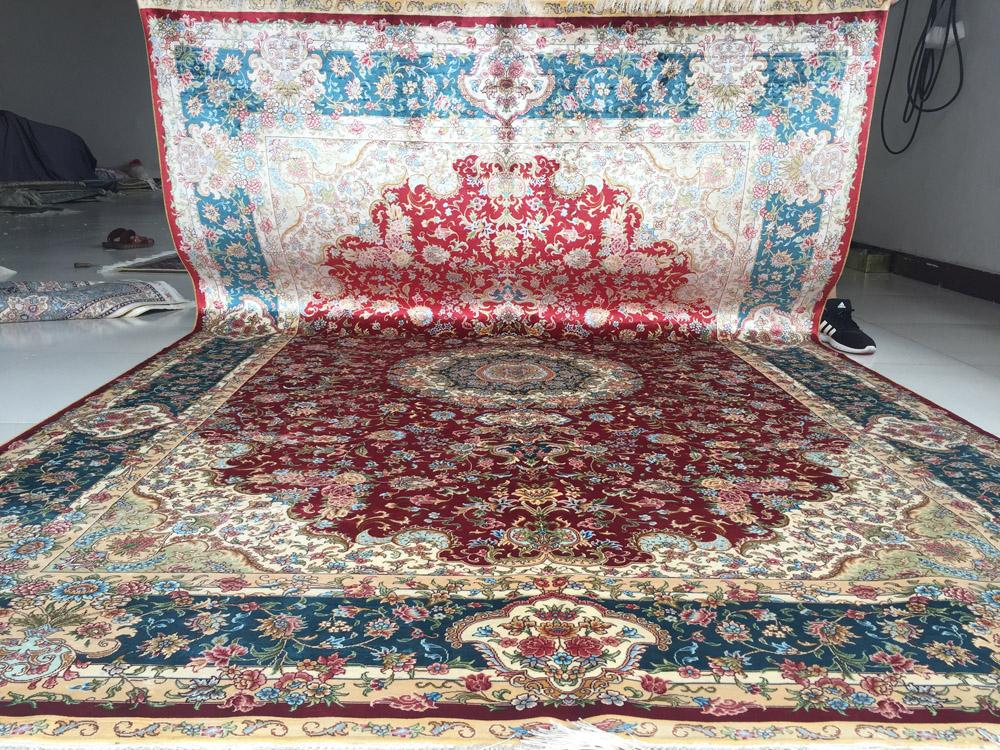 فرش دستباف ابریشم
