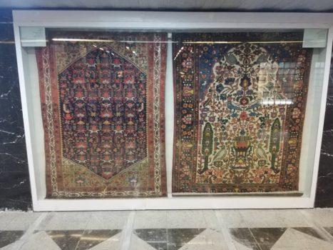 افتتاح موزه فرش در ایستگاه متروی خیام