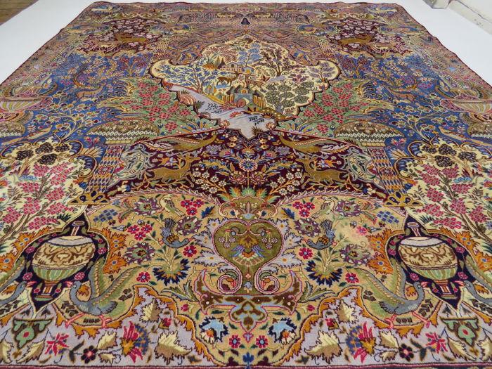 Wonderful beautiful Persian carpet Kashmar / Iran 395 x 300 - Catawiki