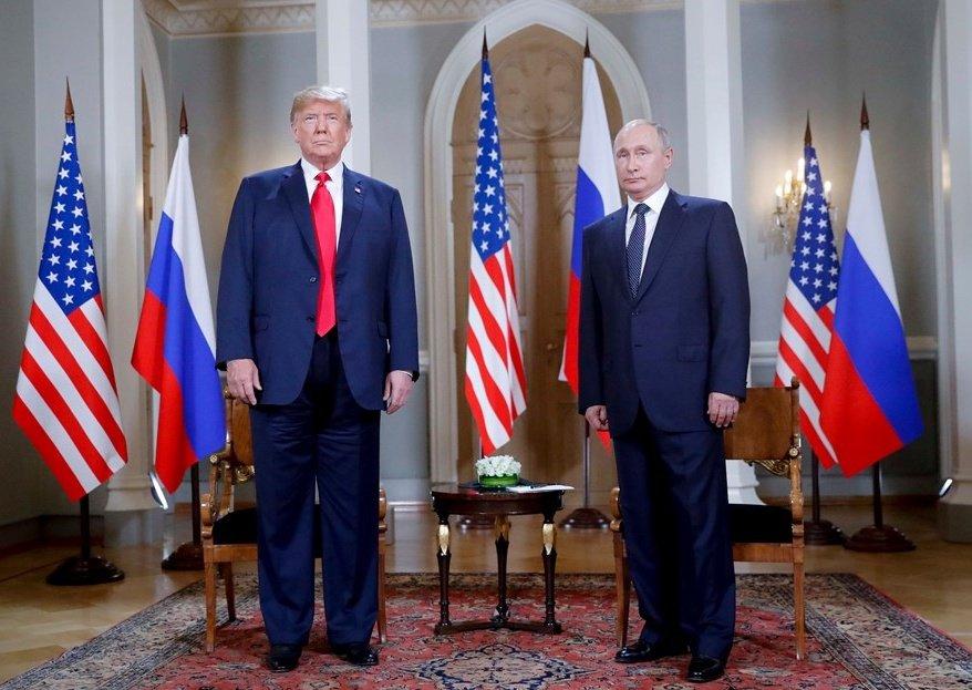 پوتین و ترامپ و فرش کاشان